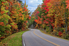 Pogórza Parkway, Tennessee obraz royalty free