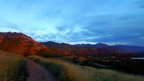 Pogórza Salt Lake Fotografia Royalty Free