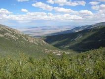 Pogórza w Wielkim Basenowym parku narodowym, Nevada zdjęcia stock
