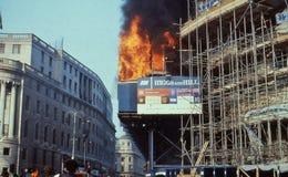 Pogłówne zamieszki, Londyn Zdjęcie Stock