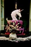Pogański Ślubny tort zdjęcie stock