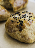 Pogaca, pastelarias saborosos turcas caseiros tradicionais Foto de Stock Royalty Free
