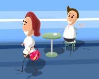 pogadać, ilustracja wektor