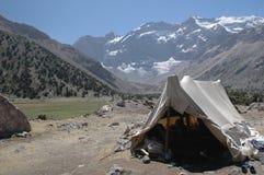 poganiacza bydła jest namiot zdjęcia royalty free