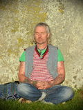 Poganie Zaznaczają jesieni równonoc przy Stonehenge Obraz Royalty Free