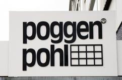 Poggen Pohl bokstäver Royaltyfri Bild