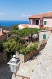 Poggio, het Eiland van Elba royalty-vrije stock foto