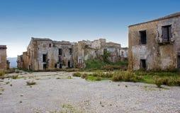 Poggioreale byggnader Arkivbilder