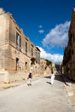 Poggioreale ghost-town, destroyed by the earthquake - Trapani province Stock Image