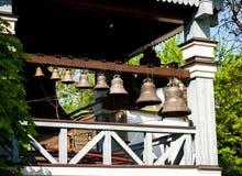 Poggioreale ruine la trappe dans le balcon Images libres de droits