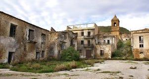 Poggioreale ruins Royalty Free Stock Photos