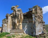 Poggioreale Sicilien - Italien Royaltyfria Bilder