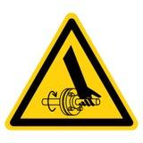 Pogmatwanie ręka Płodozmiennego dyszla symbolu znak Odizolowywa Na Białym tle, Wektorowa ilustracja ilustracji