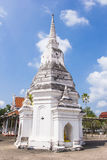 Pogoad at Wat Phra Borommathat Chaiya Worawihan Royalty Free Stock Photography