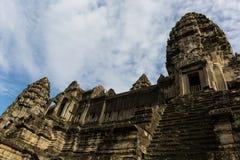 Pogoda concentrare nel Angkor Wat Fotografia Stock Libera da Diritti