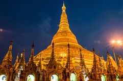 Pogoda di Shwedagon, Rangoon myanmar Immagini Stock