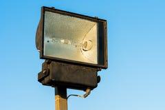 Pogoda fluorowa latarnia uliczna obraz stock