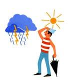 pogoda ikony Zdjęcie Royalty Free