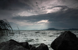 Pogoda sztormowa Zdjęcia Stock