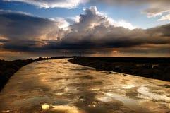 pogoda sztormowa Zdjęcia Royalty Free