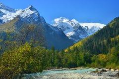 Pogodna dolina Zdjęcia Royalty Free
