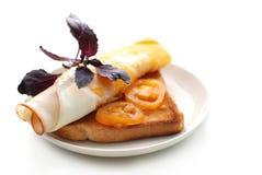 Pogodna kanapka Zdjęcie Royalty Free