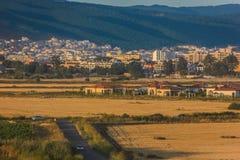 Pogodna plaża w Bułgaria zdjęcia stock