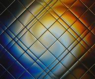 Pogodna tęcza odbija w szklanej płytce Obrazy Stock