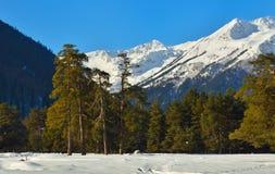 Pogodne góry Zdjęcia Stock
