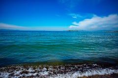 Pogodne plaże Ateny, Grecja zdjęcie royalty free