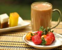 pogodny śniadaniowy ranek Obrazy Royalty Free