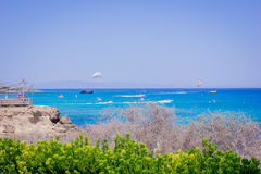 Pogodny Cypr Fotografia Stock