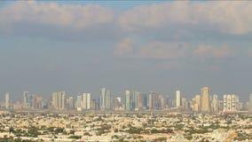 Pogodny daira 4k czasu upływ od Dubai zdjęcie wideo