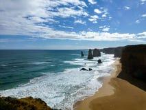 Pogodny Denny wybrzeże Obraz Royalty Free