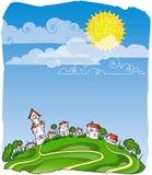 pogodny dzień pict ilustracja wektor