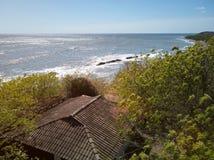 Pogodny eco wakacje na plaży Zdjęcie Royalty Free