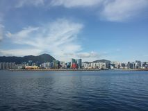 Pogodny Hong Kong Zdjęcie Stock