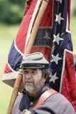 Pogodny konfederat obrazy royalty free