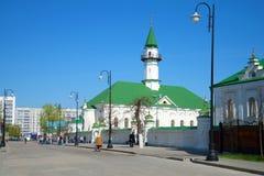 Pogodny May przy al meczetem dzień kazan Obrazy Royalty Free