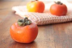 Pogodny persimmon zdjęcie royalty free