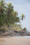 pogodny plażowy jaskrawy dzień zdjęcia stock