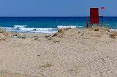 pogodny plażowy Greece Obraz Royalty Free