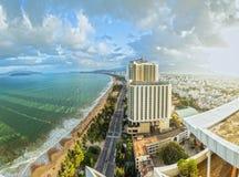 Pogodny popołudnie w Nha Trang zdjęcie royalty free