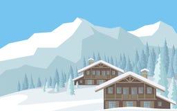 Pogodny w górach Obraz Royalty Free