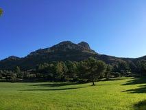 Pogodny wzgórze Obraz Royalty Free