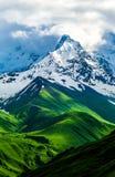 Pogodowa zmiana w wysokich górach obrazy stock
