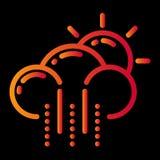 pogodowy ikona projekt ilustracji