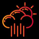 pogodowy ikona projekt ilustracja wektor