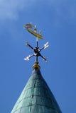 Pogodowy Vane na ratuszu, Londonderry Obrazy Royalty Free