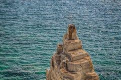 Pogodowy vane na Salento wybrzeżu Obraz Stock